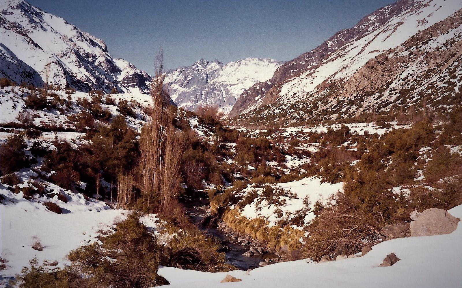 Cajon de Maipo Slide